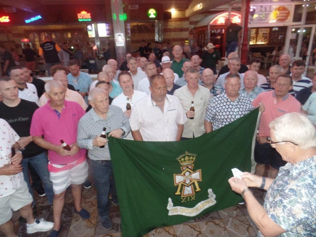 Green Howards Benidorm.Fun In The Sun.Mon 28th Mon 4th June 2018 028