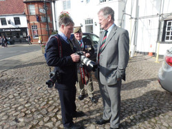 Commemoration To Honour Captain Archie White VC.Boroughbridge 125