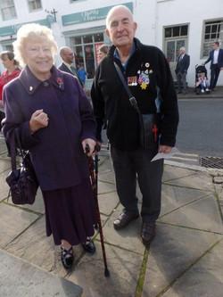 Commemoration To Honour Captain Archie White VC.Boroughbridge 062