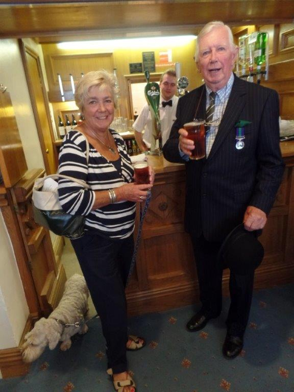 Commemoration To Honour Captain Archie White VC.Boroughbridge 141