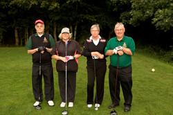 Flight 11, Billy Pattison Snr, Sue Hodgson, Anne McMillan & Fred Pattison_