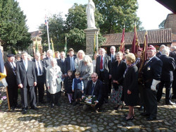 Commemoration To Honour Captain Archie White VC.Boroughbridge 100