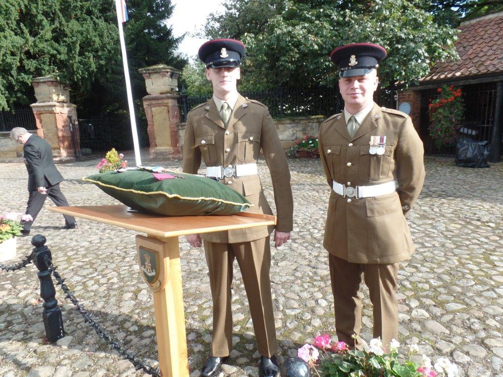 Commemoration To Honour Captain Archie White VC.Boroughbridge 025