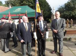 Commemoration To Honour Captain Archie White VC.Boroughbridge 033
