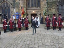 Kenny McGraths Funeral.Guisbrough Priory Wed 1st Nov 2017 100