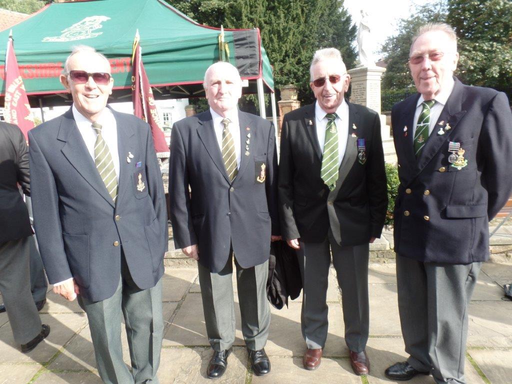 Commemoration To Honour Captain Archie White VC.Boroughbridge 035