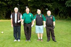 Flight 2, Dave McMillan, Brian 'Sammy' Hodgson, John O'Brien & Spike Riley. (Spot the civvy_)