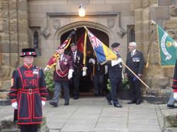 Kenny McGraths Funeral.Guisbrough Priory Wed 1st Nov 2017 098