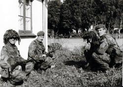 21 - Sgt Bissell Lt Robinson Sennelager 1983