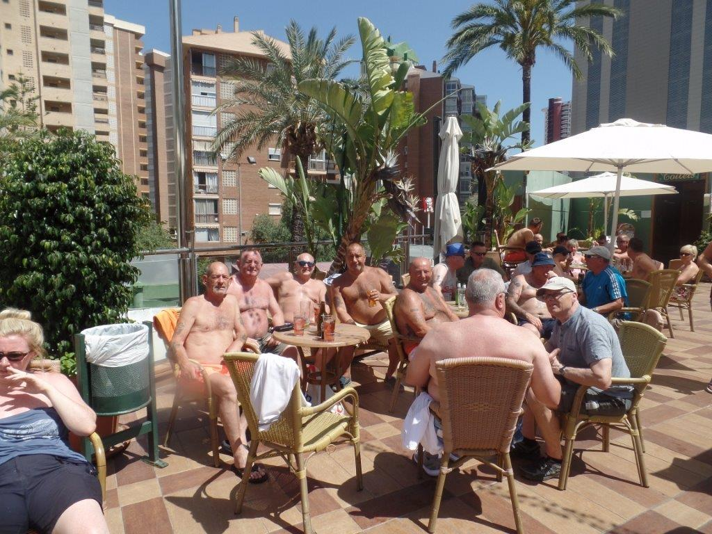 Green Howards.Benidorm Fun In The Sun.Mon 28th,Mon 4th June 2018 100