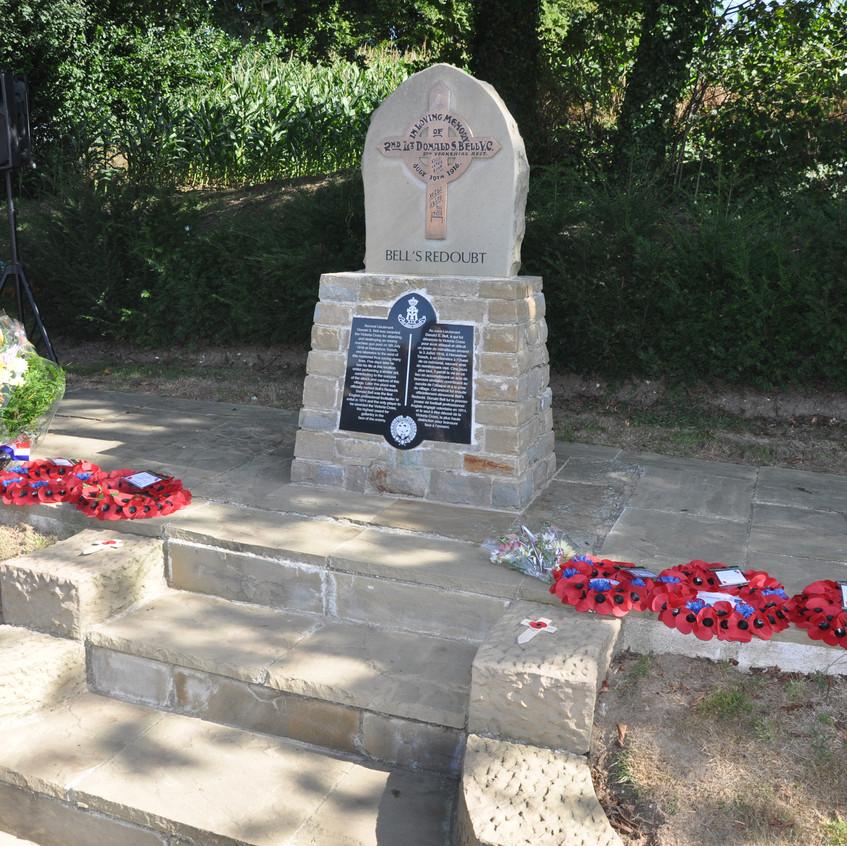 Bells Redoubt Memorial