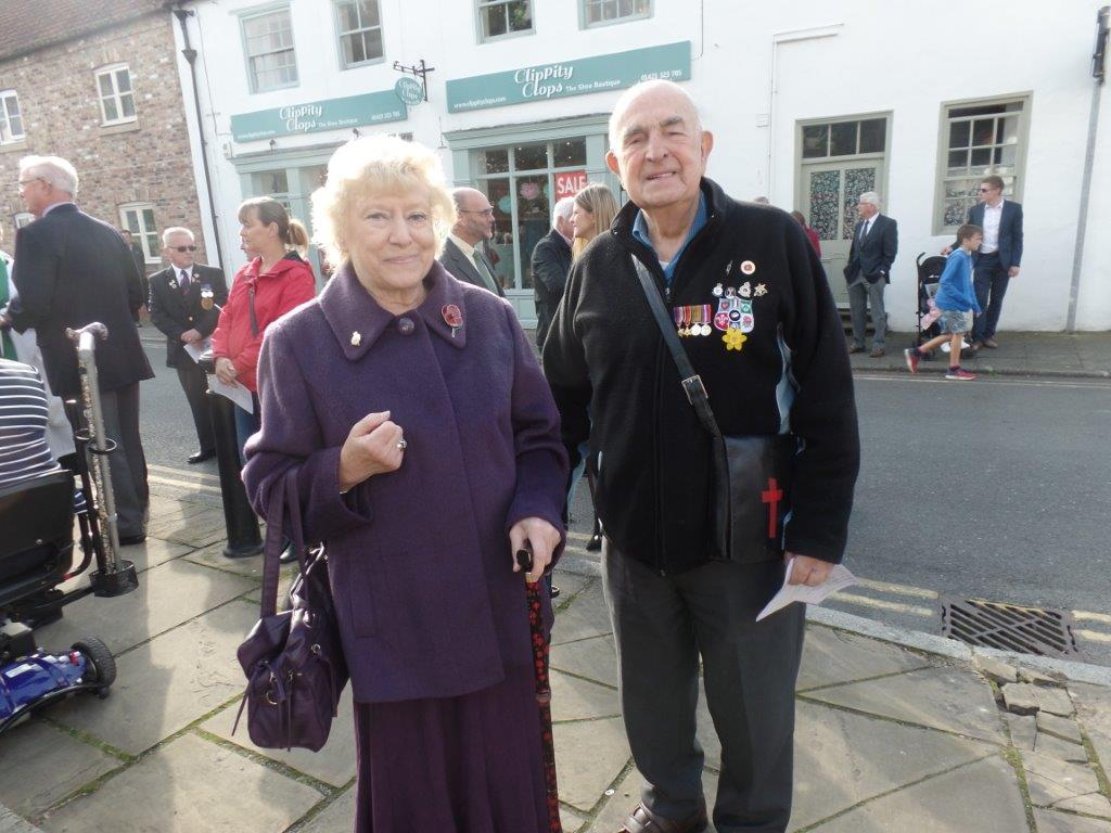 Commemoration To Honour Captain Archie White VC.Boroughbridge 063