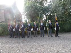 Commemoration To Honour Captain Archie White VC.Boroughbridge 052