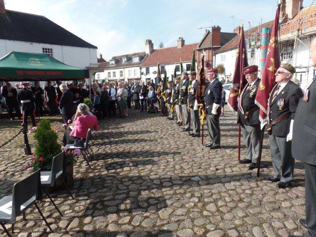 Commemoration To Honour Captain Archie White VC.Boroughbridge 075