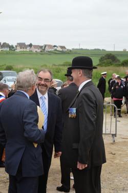5 Brig Powell & Lt Col O'Kelly