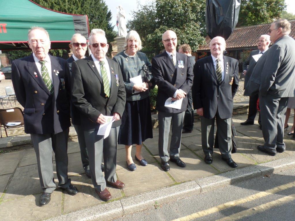 Commemoration To Honour Captain Archie White VC.Boroughbridge 065
