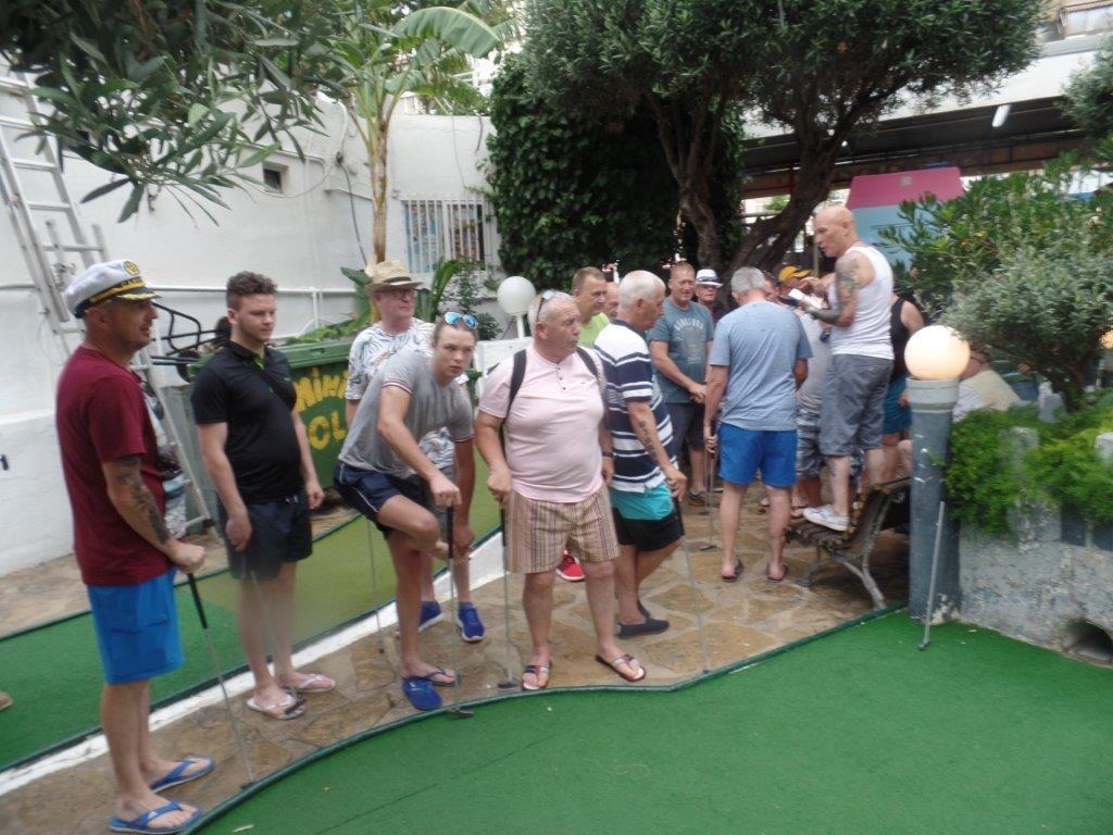 Green Howards Benidorm. Fun In The SunMon 28th May Mon 4th June 150