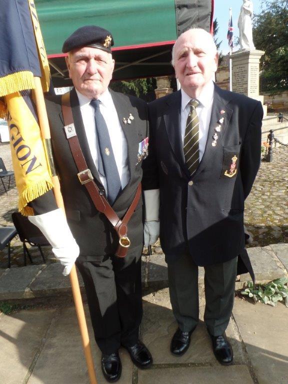 Commemoration To Honour Captain Archie White VC.Boroughbridge 021