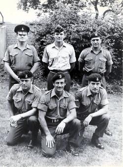14 - 7 platoon leaders 1971