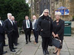 Kenny McGraths Funeral.Guisbrough Priory Wed 1st Nov 2017 006