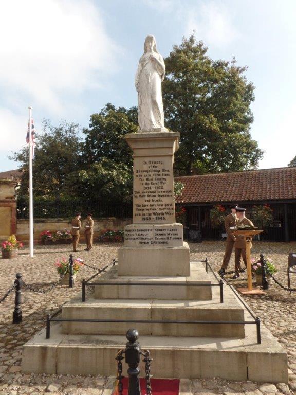 Commemoration To Honour Captain Archie White VC.Boroughbridge 024