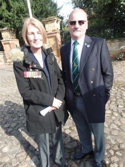 Commemoration To Honour Captain Archie White VC.Boroughbridge 112