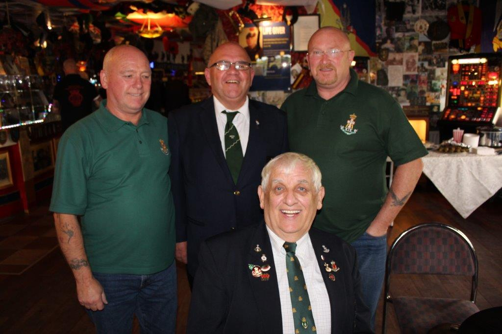 Green Howards Reunion Sun 8th Oct 2017 T.A Centre +Don Bar 093