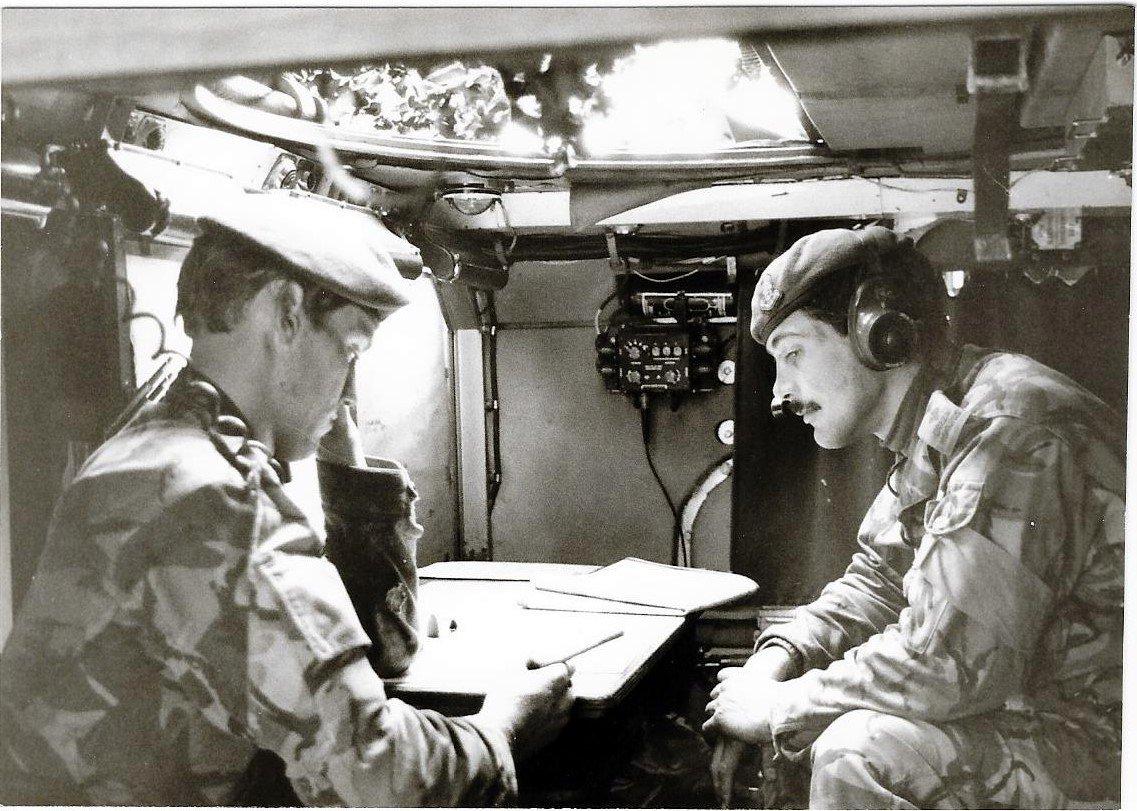 03 - Sgt Farrier Lt Mark Tovey A Coy Osnabruck 1983