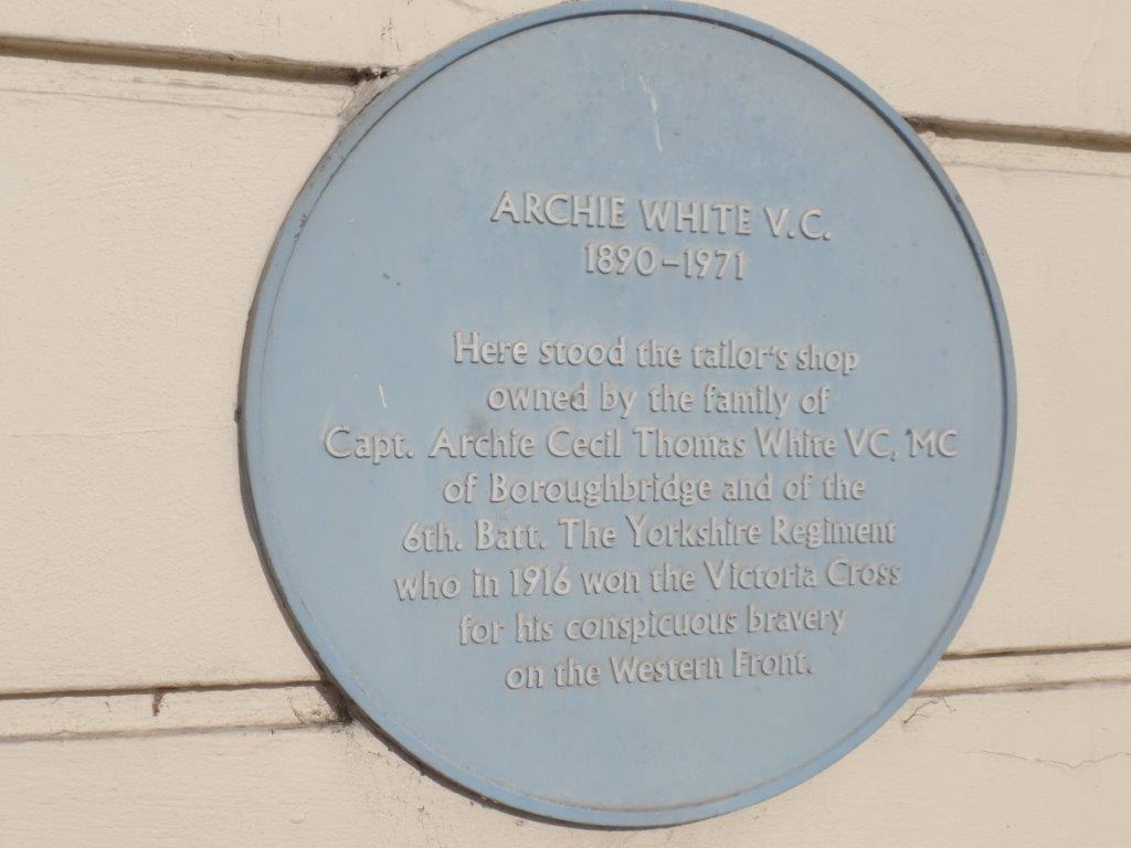 Commemoration To Honour Captain Archie White VC.Boroughbridge 014