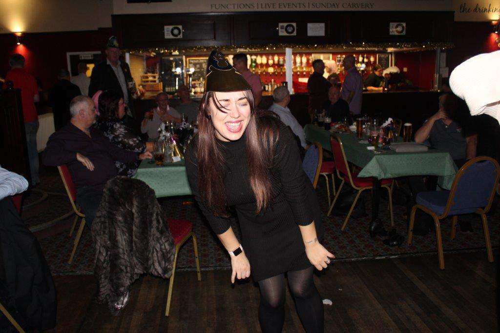 Green Howards Xmas Party.Longlands.(Cannon Cam).Sat 2nd Dec 2017 058