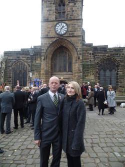 Kenny McGraths Funeral.Guisbrough Priory Wed 1st Nov 2017 016