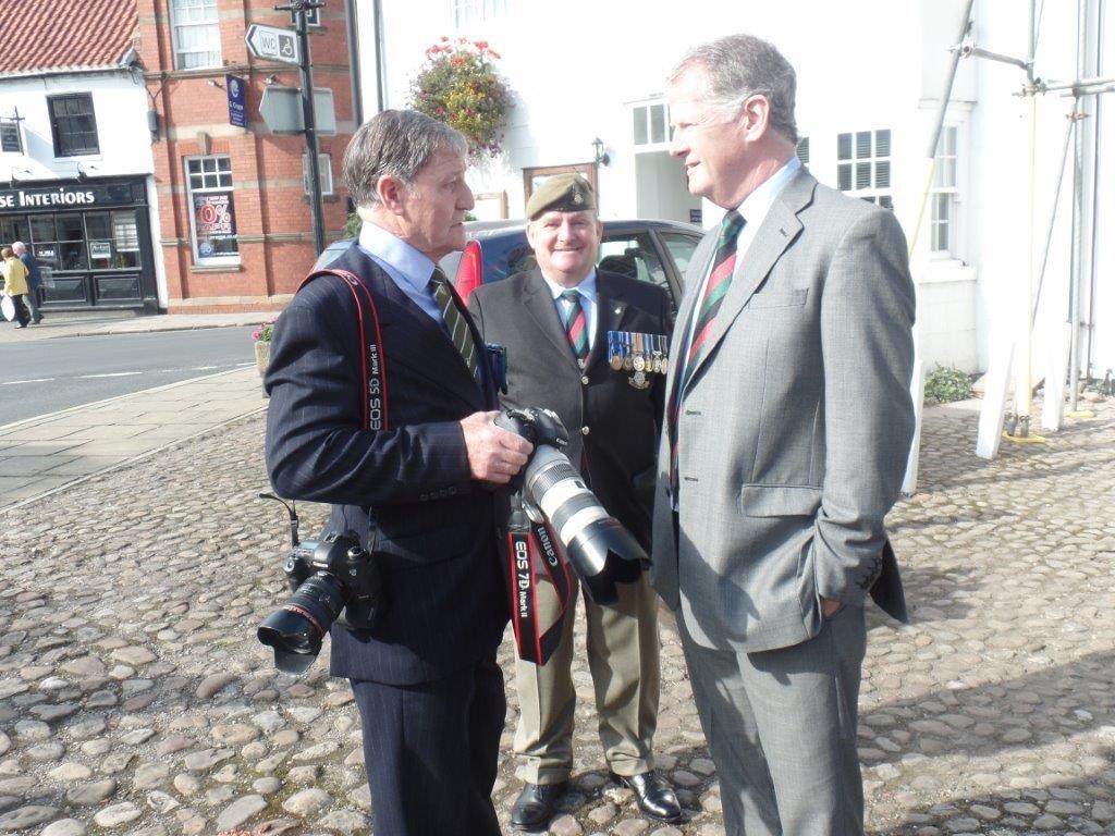 Commemoration To Honour Captain Archie White VC.Boroughbridge 126