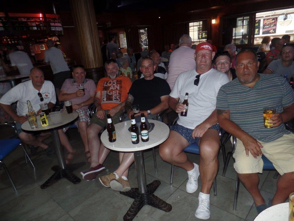Green Howards Benidorm. Fun In The SunMon 28th May Mon 4th June 209