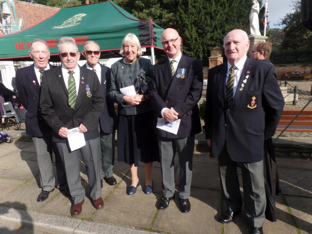 Commemoration To Honour Captain Archie White VC.Boroughbridge 064