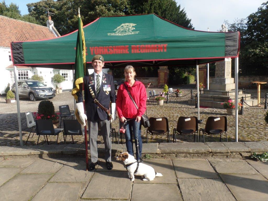Commemoration To Honour Captain Archie White VC.Boroughbridge 009