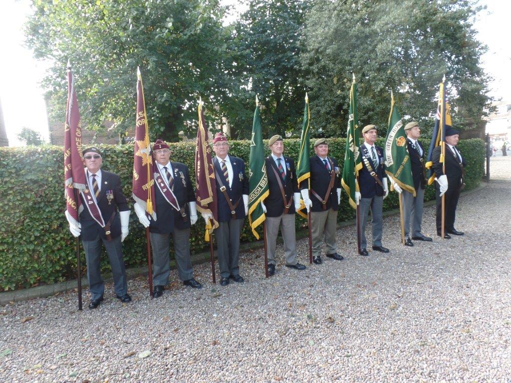 Commemoration To Honour Captain Archie White VC.Boroughbridge 050