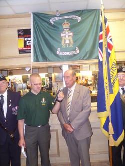 Stan Hollis V.C Memorial.Longlands Club Sat 2nd Aug 2014 005