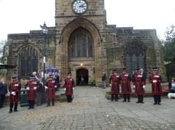 Kenny McGraths Funeral.Guisbrough Priory Wed 1st Nov 2017 092