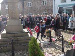 Commemoration To Honour Captain Archie White VC.Boroughbridge 080