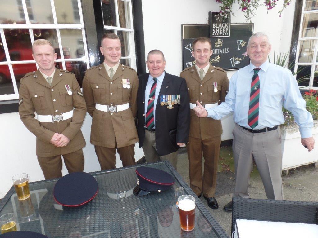 Commemoration To Honour Captain Archie White VC.Boroughbridge 156