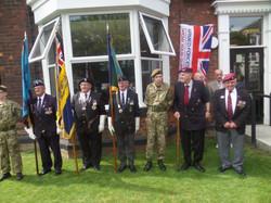 Stan Hollis V.C Memorial.Longlands Club Sat 2nd Aug 2014 016