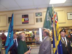 Stan Hollis V.C Memorial.Longlands Club Sat 2nd Aug 2014 006