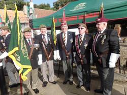 Commemoration To Honour Captain Archie White VC.Boroughbridge 048