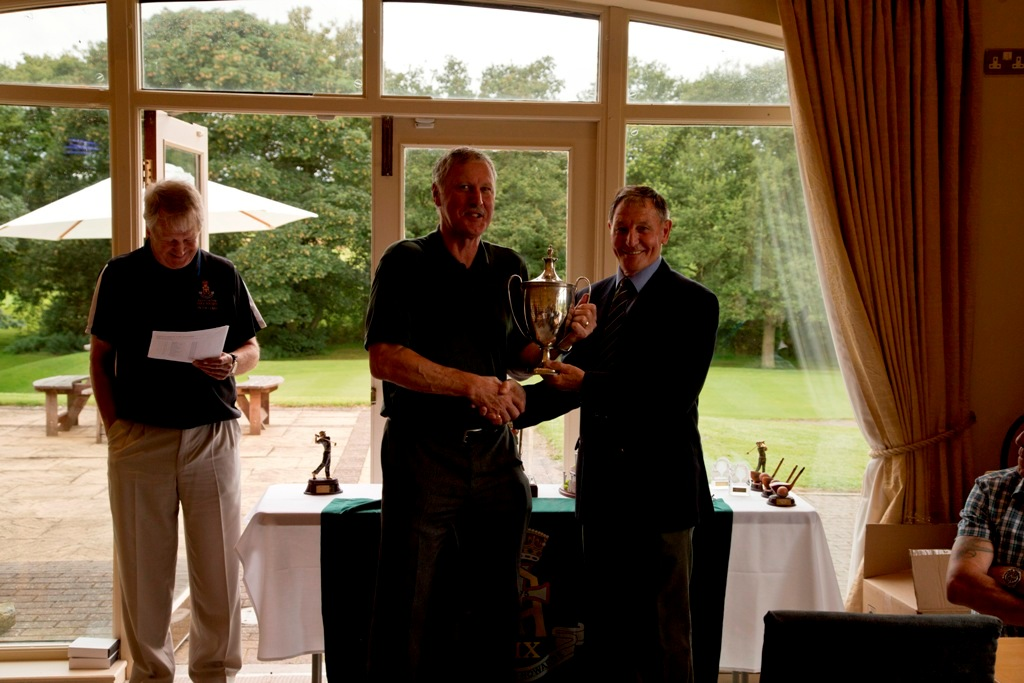 Col Wade Tovey MBE Winner Officers Cup