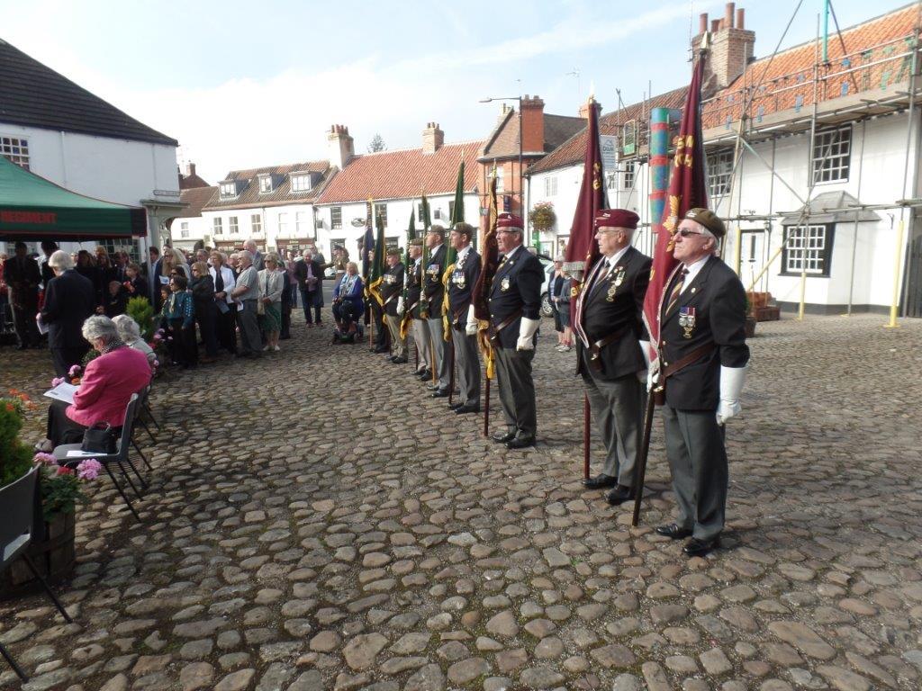 Commemoration To Honour Captain Archie White VC.Boroughbridge 074
