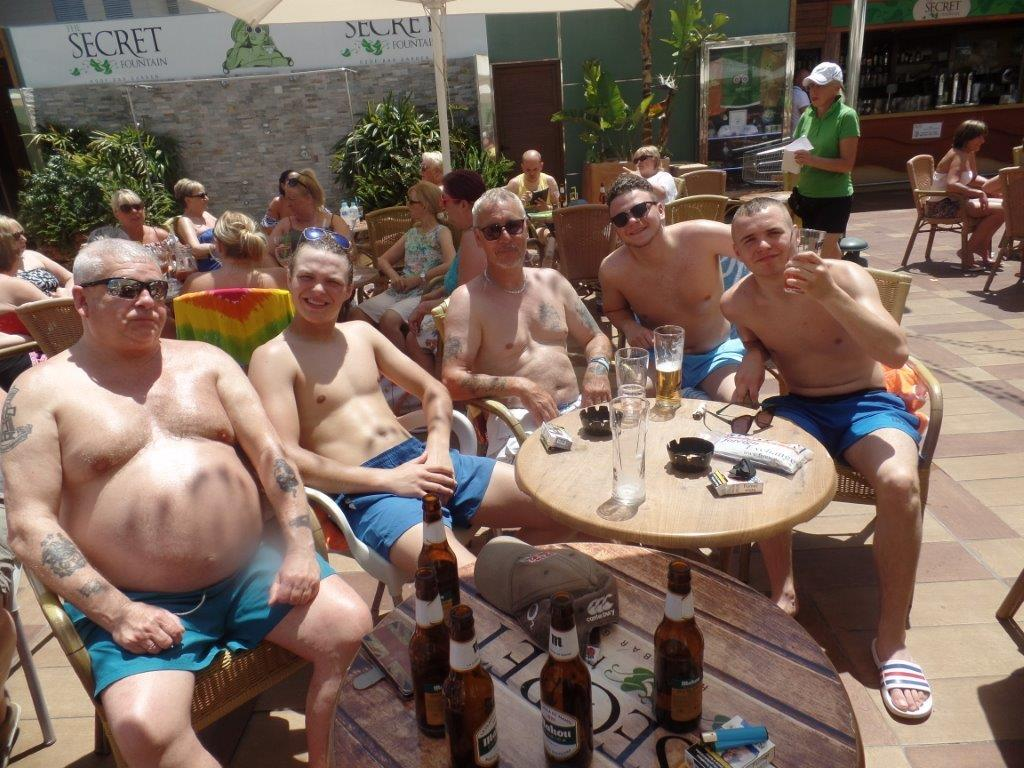 Green Howards.Benidorm Fun In The Sun.Mon 28th,Mon 4th June 2018 323