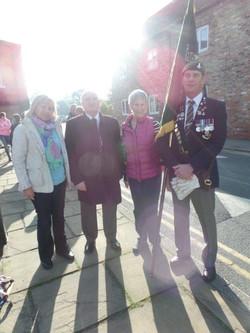 Commemoration To Honour Captain Archie White VC.Boroughbridge 006
