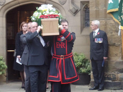 Kenny McGraths Funeral.Guisbrough Priory Wed 1st Nov 2017 301