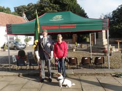 Commemoration To Honour Captain Archie White VC.Boroughbridge 008