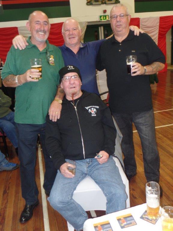 Green Howards Reunion.T.A Centre Stockton Rd.Fri 14th Oct 017